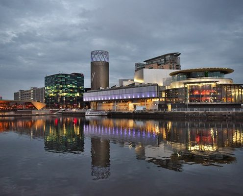 Photo of quay in Manchester