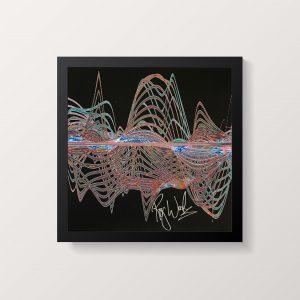 A Soundwaves Art print