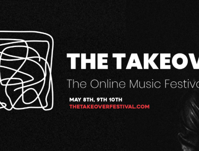 Logo for The Takeover Festival